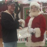 Santa Clause receives Certificate of Excellence from the UHA